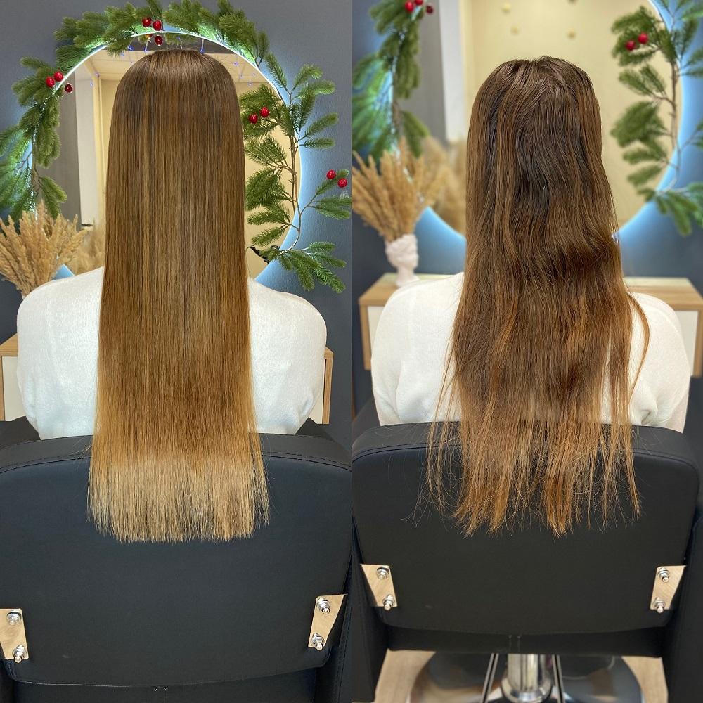 Выпрямление волос самое лучшее